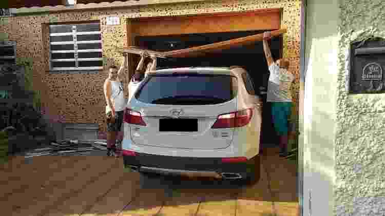 Perícia liberou carro de Ralf após quase 20 horas do acidente - Lucas Faraldo/UOL - Lucas Faraldo/UOL