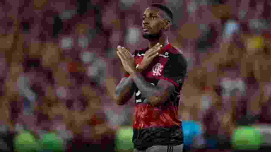 Gerson comemora gol sobre o Independiente Del Valle na final da Recopa Sul-Americana - Reprodução/Instagram/Flamengo