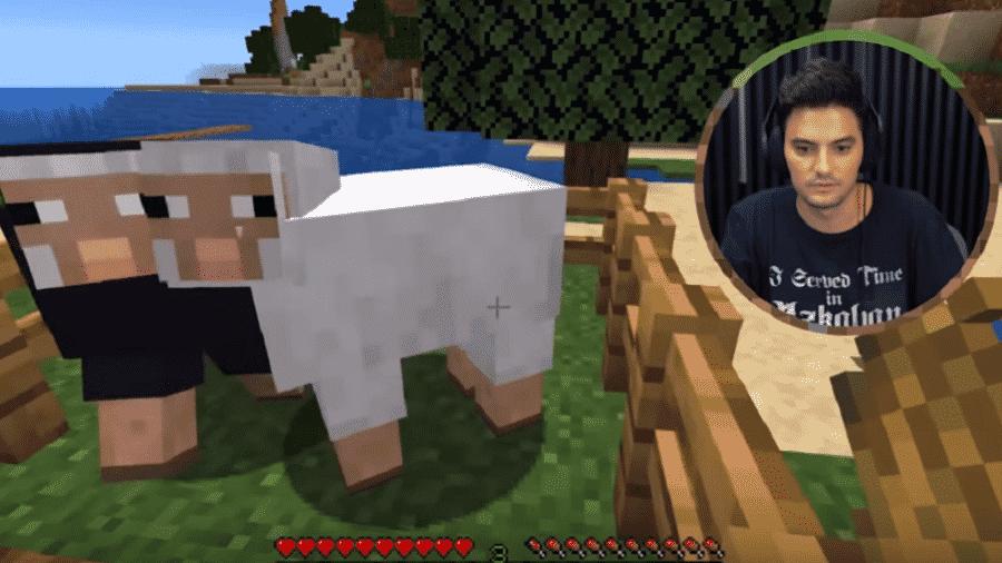 Felipe Neto apelidou ovelhas em jogo da internet de Loco e Túlio - Reprodução