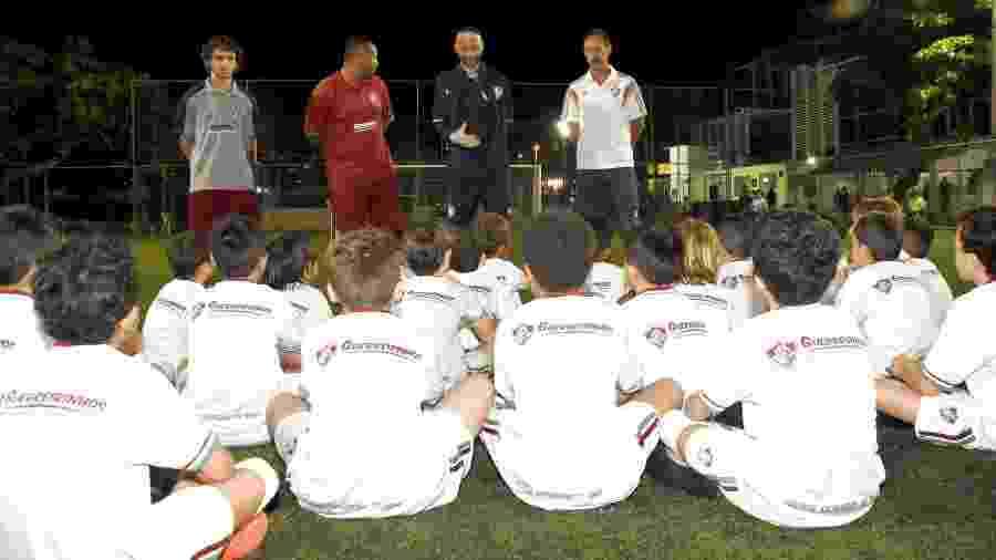 Ronald, ex-jogador, atualmente trabalha na base do Fluminense - MAILSON SANTANA/FLUMINENSE FC