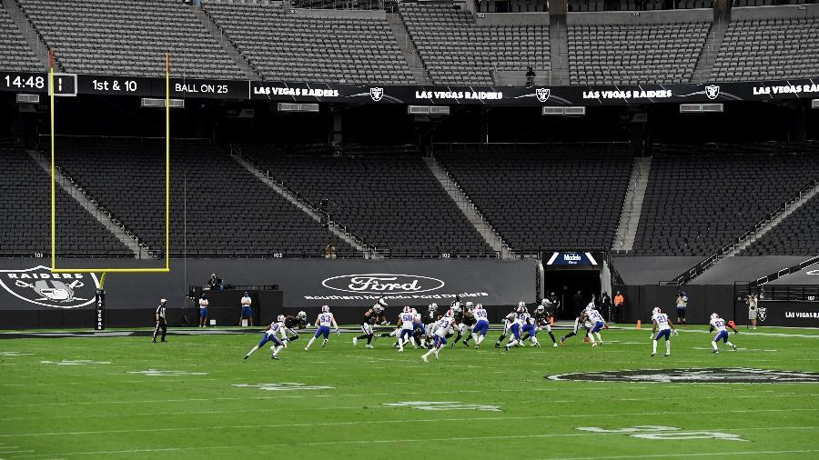 Estádio do Las Vegas Raiders seria o palco do Pro Bowl em janeiro de 2021 - Getty Images