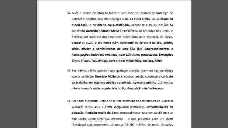Chapa encabeçada por Walmer Machado pede impugnação de chapa de Durcesio - Reprodução - Reprodução