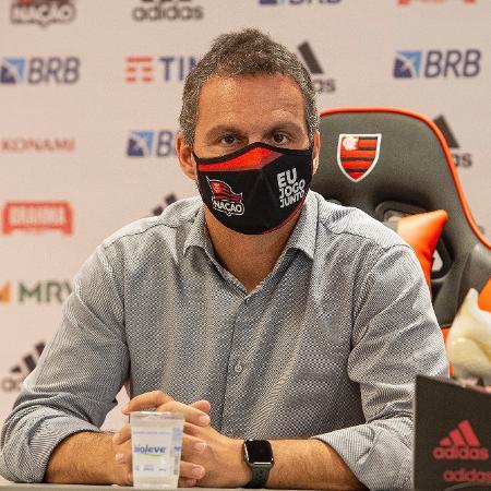 Bruno Spindel, diretor executivo de futebol do Flamengo - Alexandre Vidal/Flamengo