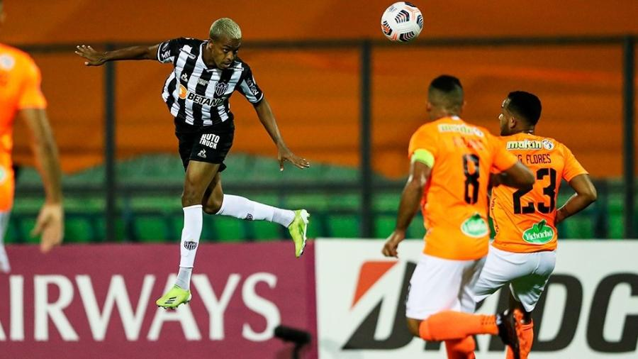 Atlético-MG empatou com o Deportivo La Guaira, da Venezuela, na estreia da Libertadores - Divulgação