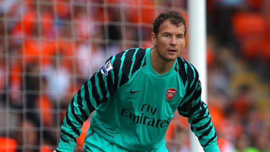 Jens Lehmann teve destaque como atleta com a camisa do Arsenal  - Alex Livesey/Getty Images