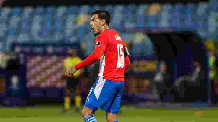 Gustavo Gómez na Copa América 2021 - Heber Gomes/AGIF - Heber Gomes/AGIF