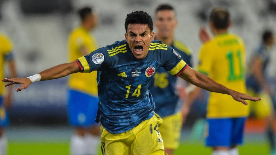 Diaz marcou um golaço contra o Brasil na primeira fase da competição - Thiago Ribeiro/AGIF