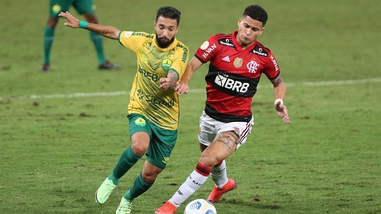 Cuiabá x Flamengo - Gil Gomes / AGIF - Gil Gomes / AGIF
