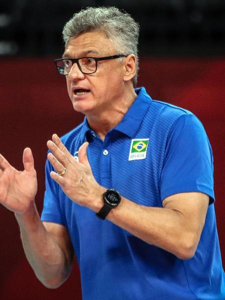 Técnico Renan Dal Zotto, da seleção masculina de vôlei - Gaspar Nóbrega/COB