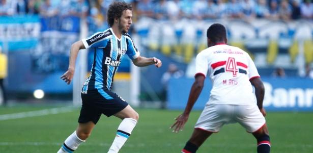 Ex-jogador do Grêmio, Rafael Galhardo não tem previsão para assinar com o Cruzeiro