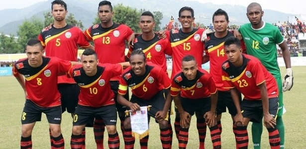 Timor Leste perdeu por 8 a 0 e 10 a 0 nos últimos jogos das eliminatórias da Copa