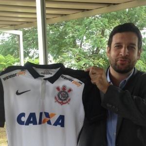 Corinthians apresentou novo patrocinador - Reprodução/Twitter