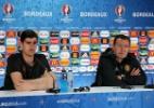 Courtois e Wilmots teriam se agredido após eliminação da Bélgica na Euro - REUTERS