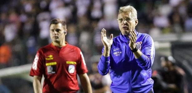 Após o retorno ao clube, Oswaldo comandou o time alvinegro em sete jogos