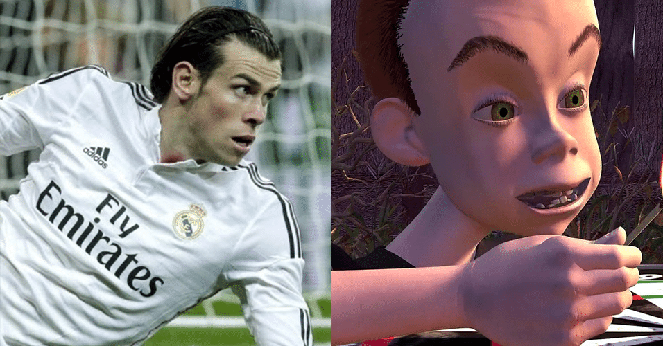 "GARETH BALE - Sid Phillips, de ""Toy Story"""