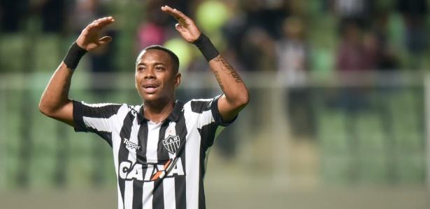 Robinho quer crescer de rendimento no momento mais importante da temporada