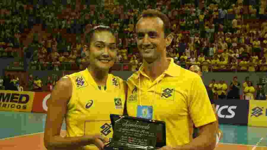 Naiane é a levantadora da seleção brasileira - Oswaldo Forte/MPIX/CBV