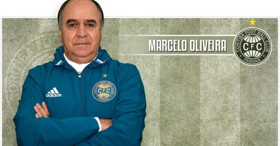 Marcelo Oliveira, técnico do Coritiba