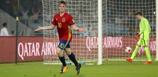 Sergio Goméz, de 17 anos, é da base do Barcelona
