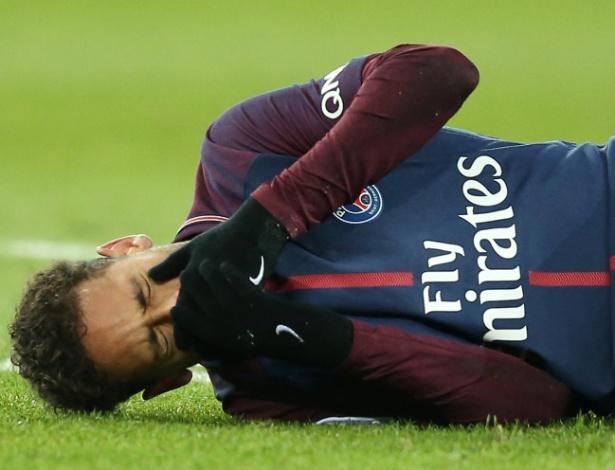 Neymar se manifestou pela primeira vez depois do anúncio da cirurgia pelo PSG - REUTERS/Stephane Mahe