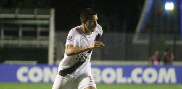 Thiago Galhardo em ação durante jogo do Vasco contra o Racing - Paulo Fernandes/Vasco.com.br
