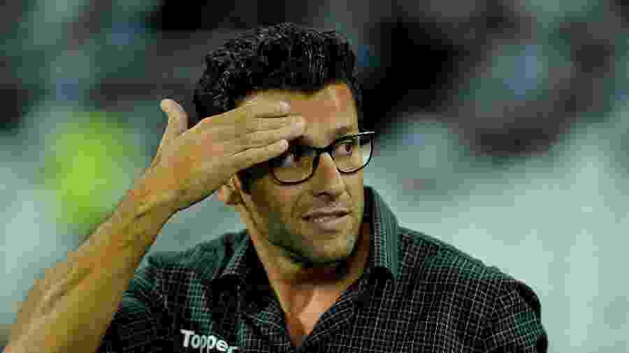 Alberto Valentim comanda o Botafogo pela segunda vez na carreira - Thiago Ribeiro/AGIF