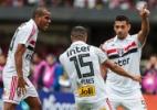 São Paulo fura retranca cearense, vence por 1 a 0 e mantém a liderança - Ale Cabral/AGIF