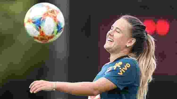 A meio-campista Andressinha será titular contra a Itália - Rener Pinheiro / MoWA Press