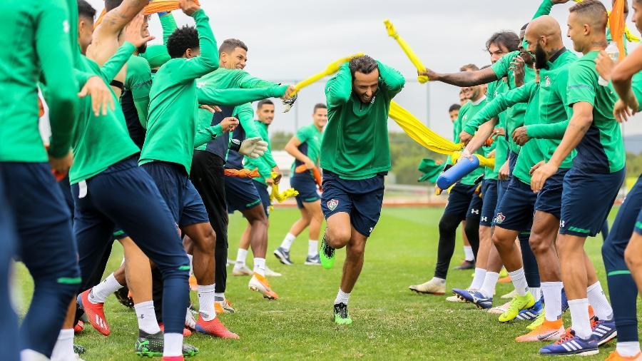 Nenê deverá fazer estreia pelo Fluminense justamente contra o ex-time: o Vasco - Lucas Mercon/Fluminense