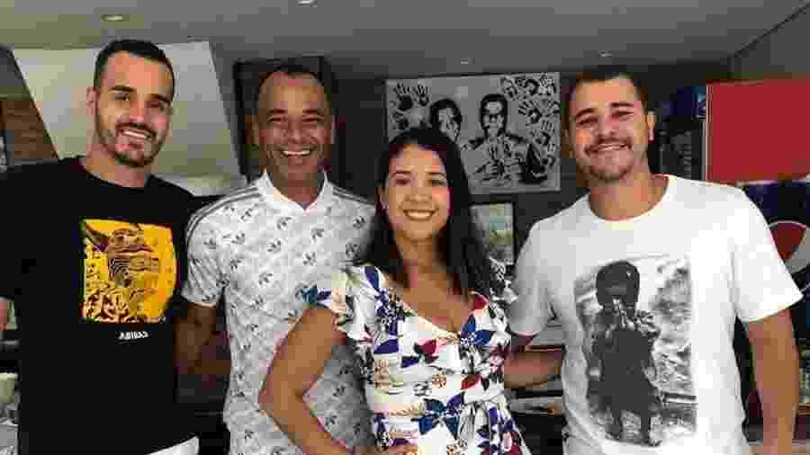 Danilo Feliciano, à direita, morreu aos 30 anos de idade - Reprodução/Instagram