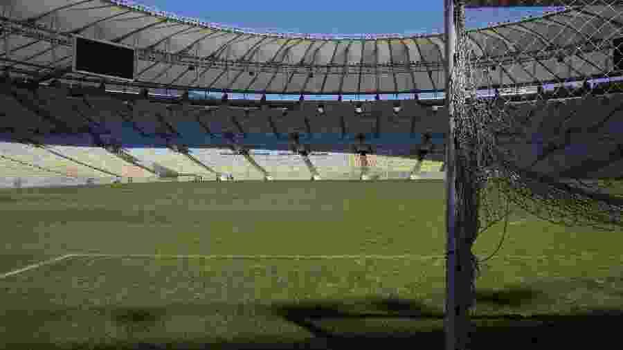 Maracanã voltará a ter geral, mas setor deverá ser móvel para que estádio possa permanecer no padrão da Fifa - Lalo de Almeida/ Folhapress
