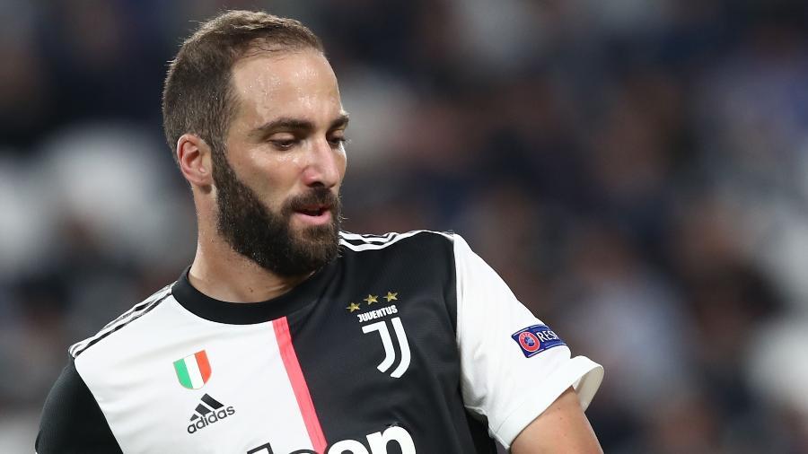 Higuain em ação pela Juventus - Isabella BONOTTO / AFP