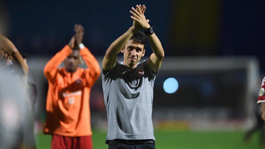 Ricardo Colbachini chegou a comandar o principal do Inter de forma interina - Ricardo Duarte/Inter