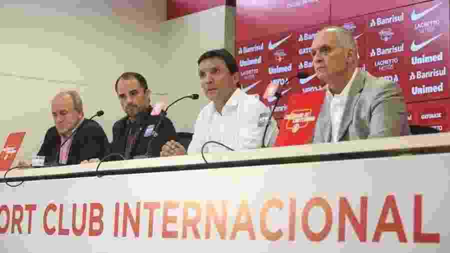 Zé Ricardo é apresentado pela direção do Internacional como técnico do time - Ricardo Duarte/Inter