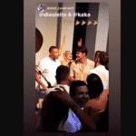 Julio Baptista solta a voz no casamento de Kaká e Carol Dias - Reprodução/Instagram Carol Dias