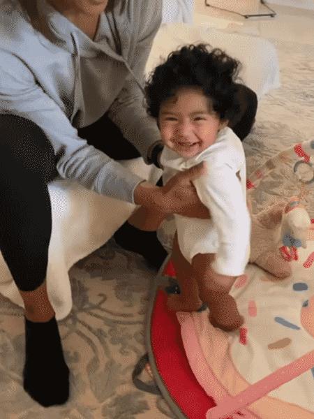 Capri, filha caçula de Kobe Bryant e Vanessa Bryant - Reprodução/Instagram