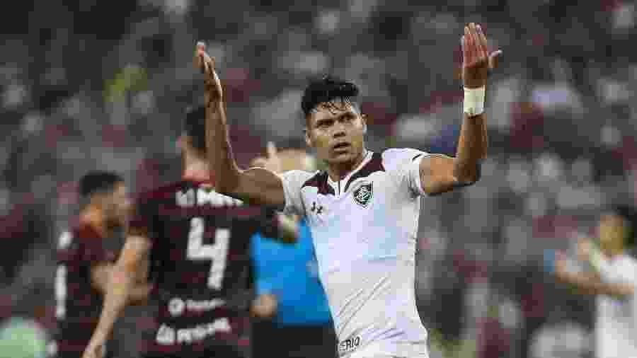 Evanílson tem ótimo início no Fluminense; números são iguais aos primeiros jogos de Fred - Lucas Merçon/Fluminense FC