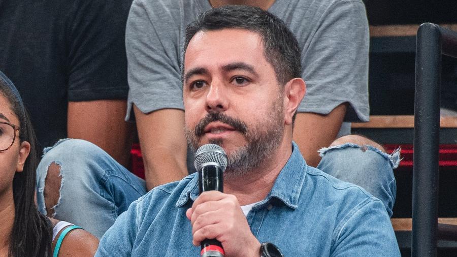 Marco Aurélio Souza, repórter esportivo da Globo, relatou luta contra a Covid-19 em texto  - Fabio Rocha