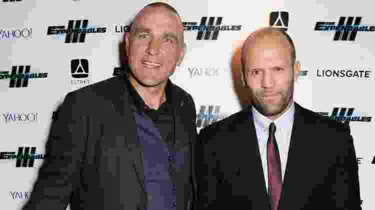 Vinnie Jones e Jason Statham - Dave M. Benett/WireImage - Dave M. Benett/WireImage