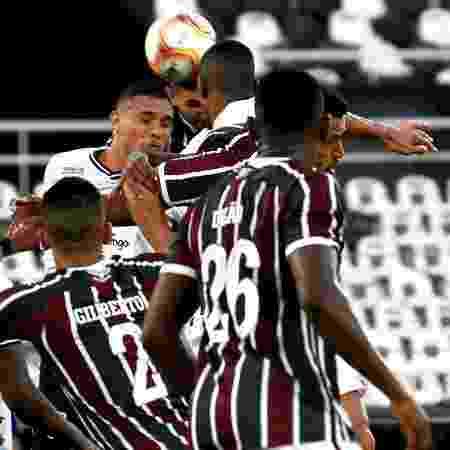 Fluminense e Botafogo, na semifinal da Taça Rio, disputada no estádio Nilton Santos - Mailson Santana/Fluminense FC