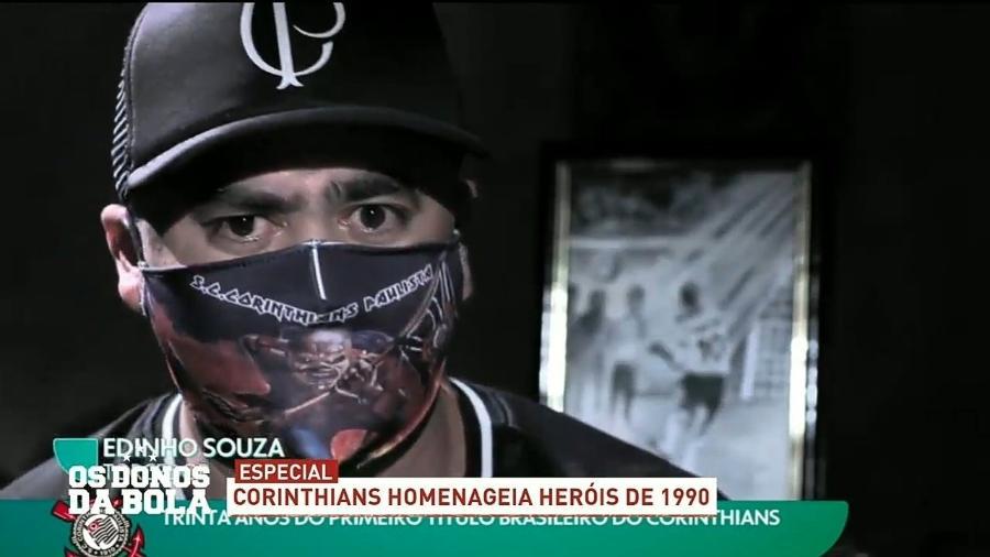 Band reexibiu matéria da Globo sobre título do Corinthians - Reprodução/Band