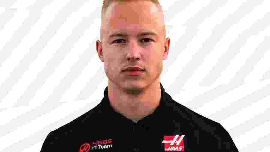 Nikita Mazepin será um dos pilotos da Haas na F1 em 2021 - Divulgação/Haas