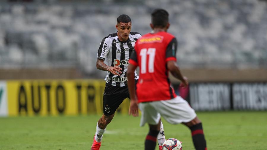 Guilherme Arana é uma das armas do Atlético-MG desde a última temporada - Pedro Souza/Atlético-MG