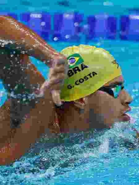 """Guilherme Costa, o """"Cachorrão"""" da natação, ficou fora da final após desempenho ruim na bateria dos 400m livre  - Satiro Sodré/SSPress/CBDA - Satiro Sodré/SSPress/CBDA"""