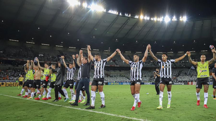 Atlético-MG tem boas chances de levar o título do Campeonato Brasileiro - Pedro Souza/Atletico