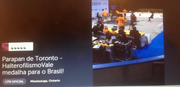 Delegação brasileira está usando Periscope para aumentar exposição do Parapan