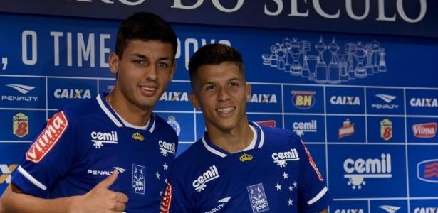 Dupla fica emprestada ao Cruzeiro. Marciel até o final do ano e Bruno até julho de 2017
