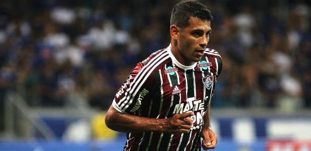 Diego Souza fez três gols na vitória do Fluminense por 4 a 3 sobre o Cruzeiro