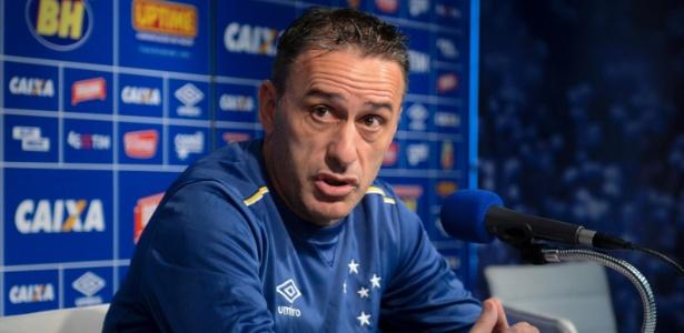 Paulo Bento, técnico do Cruzeiro
