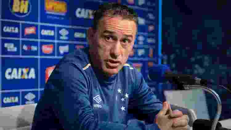 Ex-técnico da seleção portuguesa, Paulo Bento dirigiu Cruzeiro por 17 jogos em 2016 - Washington Alves/Light Press/Cruzeiro